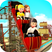 Roller Coaster Craft: Blocky Building & RCT Games